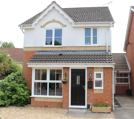 Private double, ensuite with own entrance - Totton - Huis