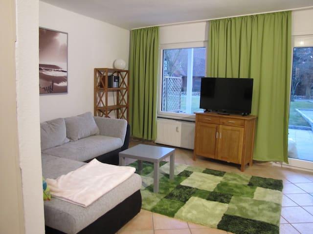 Haus Deichläufer Wohnung Wattwurm Nr. 9 - Warwerort - Tatil evi