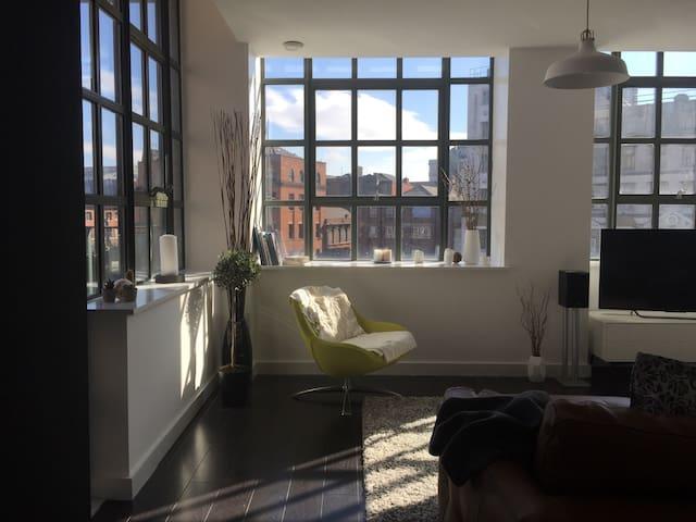 Bright, relaxing, modern NQ apt - Manchester - Lägenhet