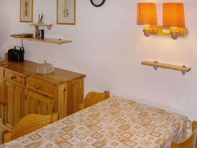 Swiss chalet-style flat w/ balcony - Torgon - Appartement
