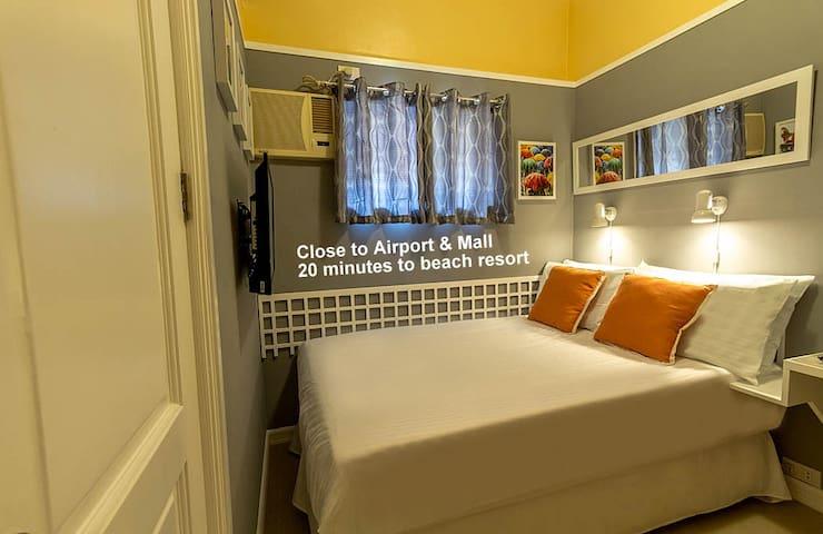 Close to Airport Private bath. Rm.1 - Lapu-Lapu City - Bed & Breakfast