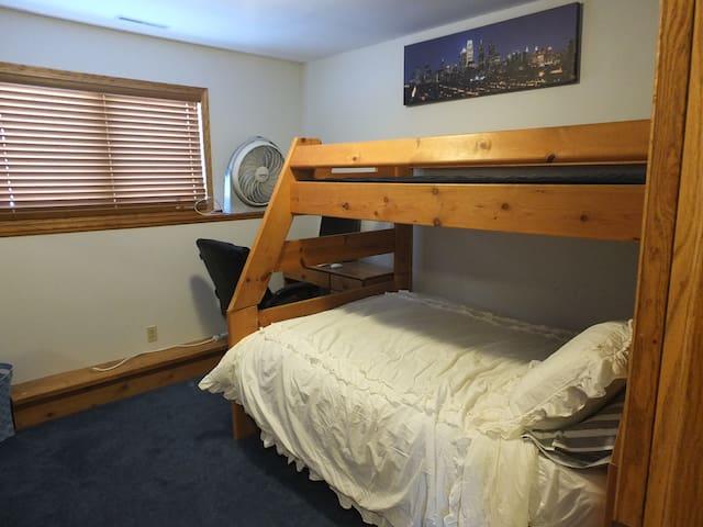 Private room in Hartford near Erin Hills/Rubicon - Hartford - Ev