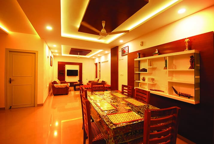Fully air conditioned premium apartment citycentre - Thiruvananthapuram - Apartament