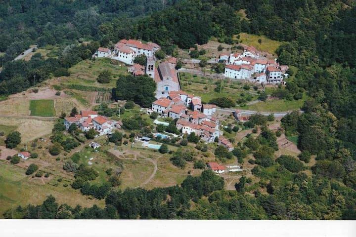 Cottage & pool - Pieve di Controni, Bagni di Lucca - Bagni di Lucca - Semesterboende