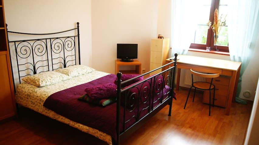 Cosy room with big double bed - Wrocław - Huoneisto