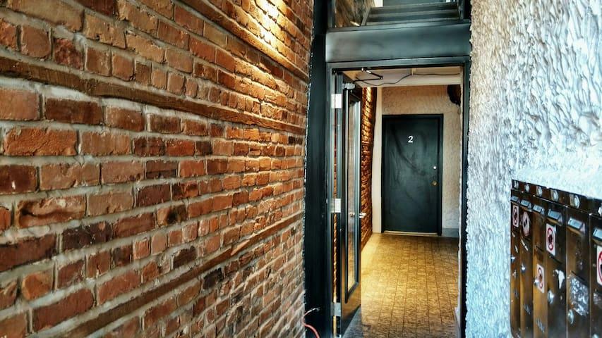 Cozy Private Bedroom in Mile End - Montreal - Departamento