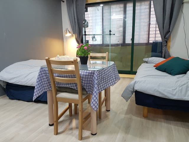 Private Studio Nearby Seoul Station (Rm. 203) - Yongsan-gu - Muu
