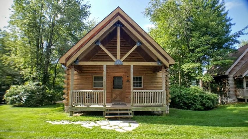 Ideally Located Log Home at Double JJ Resort - New Era