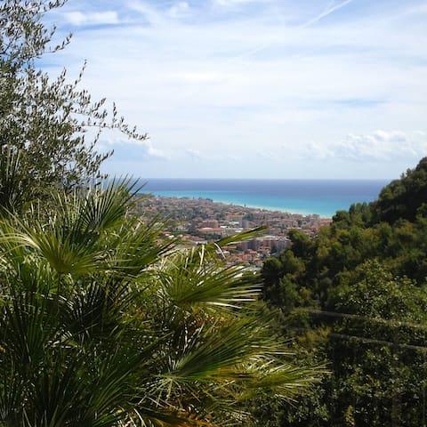 Sea-view garden & swimming pool Villa - Camporosso - Vila