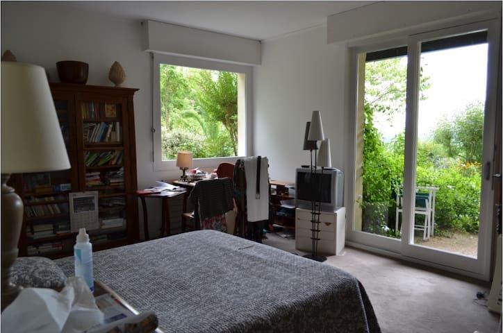 Chambre et salle de bains privatives pour 2 pers - Salies-de-Béarn - Ev