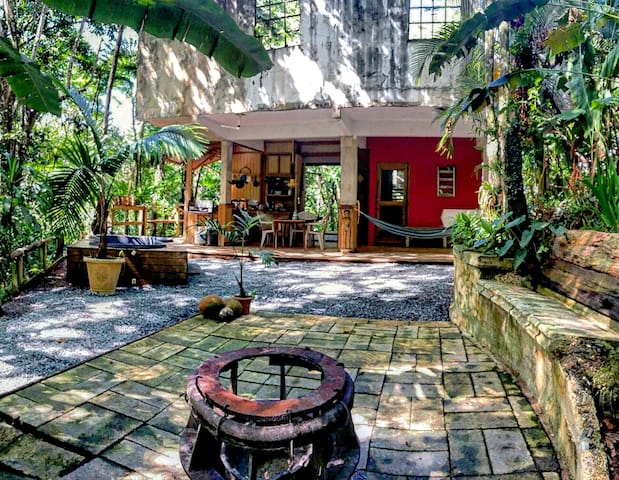 Private Jungle/Mountain Eco-Cabin: #CasaCucubano - Las Marías - Hytte