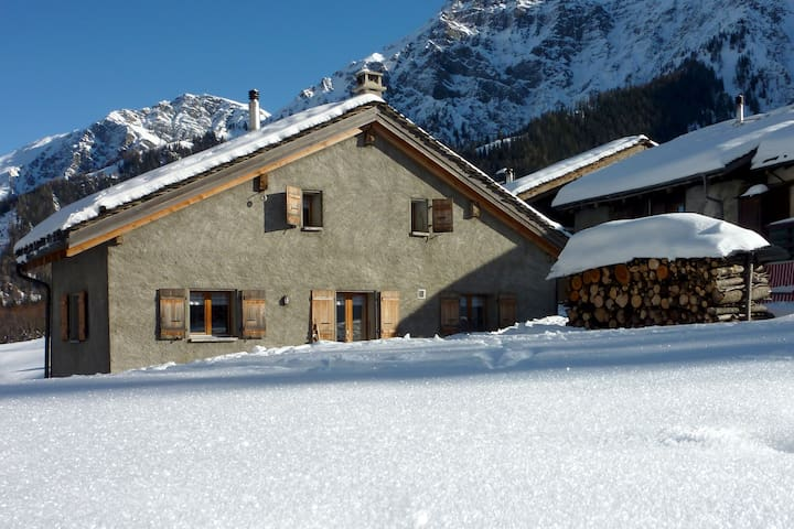 Chalet dans le Val Ferret (La Fouly) - Orsières - 牧人小屋