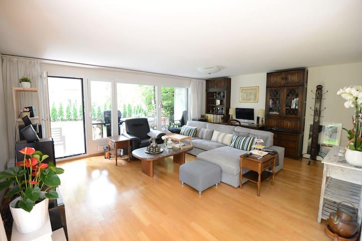 Cozy room with big garden in city of Zurich - Zürich - Leilighet