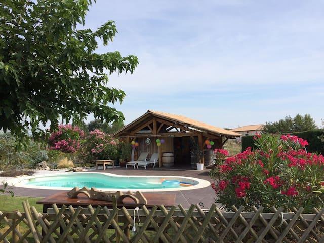 Maison au coeur du vignoble frontonnais - Fronton - Rumah