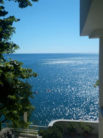 The apartment with private beach - Duino - Daire