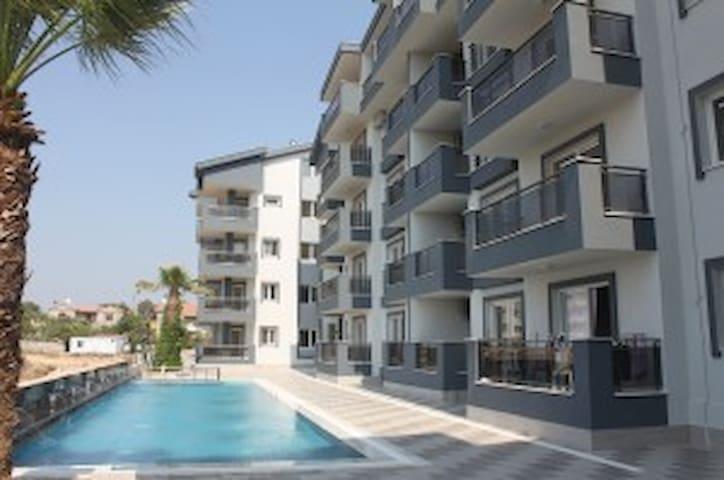 Bella Vista apartman, swimming pool and sea view. - Didim