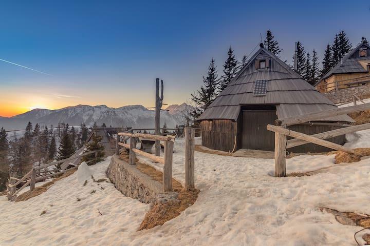 Chalet Resa - Velika planina - Velika Planina - Bungalov