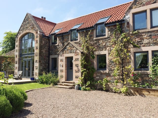 Contemporary family home close to stunning beach - Scottish Borders - Rumah