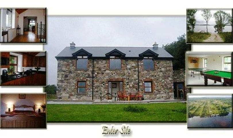 """Trinity Lodge   """"contact host for kids  discount"""" - Lough Key - Hus"""