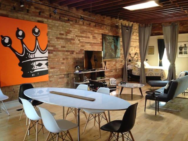 Authentic, chic, open concept loft - Toronto - Loft