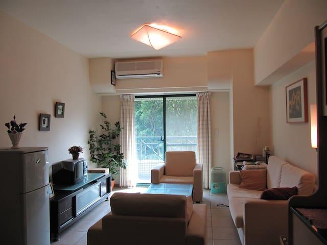 溫泉度假屋 近陽明一樓即有男湯和女湯 從位在的4樓陽台即可遠眺美麗海景 - Jinshan District - Apartamento
