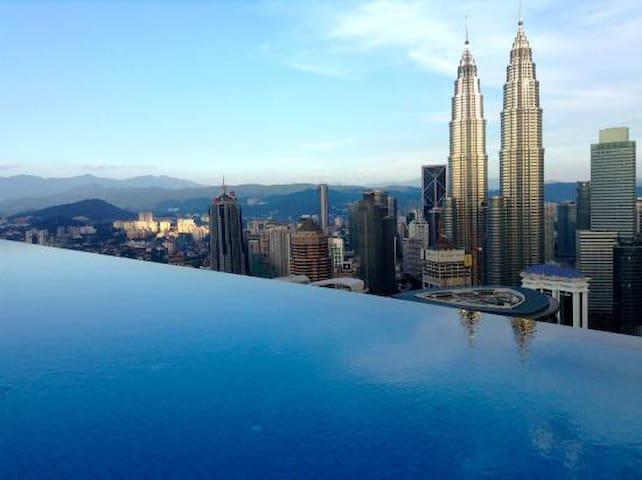INFINITY  POOL & CONFORTABLE ROOM  KLCC TOWER (04) - Kuala Lumpur - Résidence de tourisme