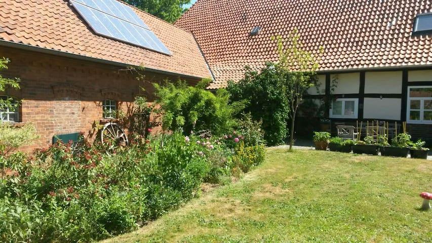 Ferienwohnung im alten Fachwerhaus - Steimbke - Leilighet