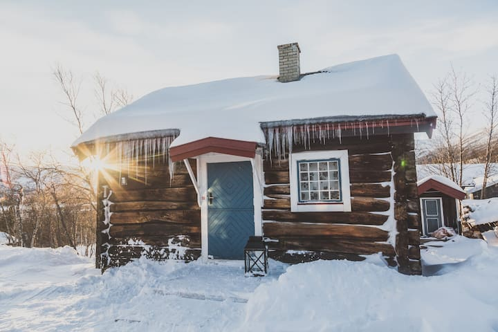 Old timber cabin, Geilo - Hol - Zomerhuis/Cottage