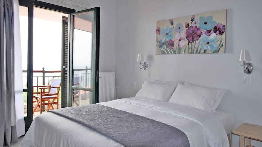Double room with amazing sea view! - Chorefto - Bed & Breakfast