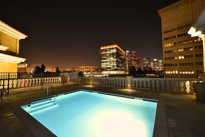 DOWNTOWN LOS ANGELES Sheek Suite - 洛杉磯 - 公寓