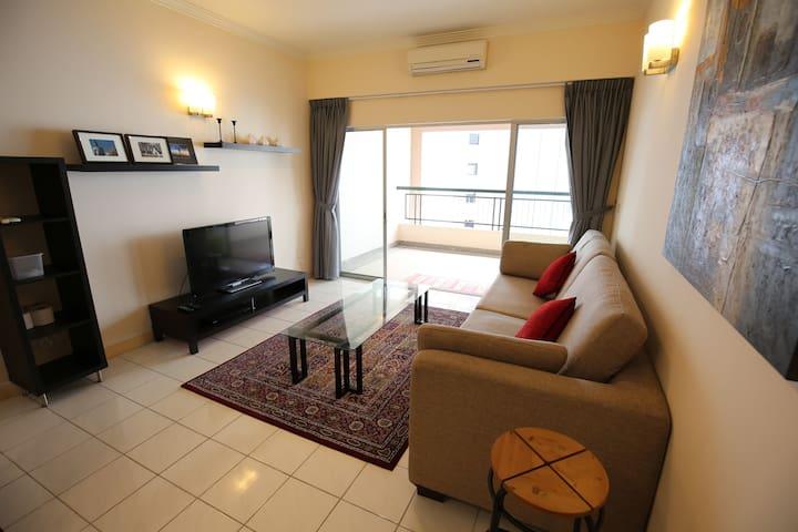 Clean & Cozy ❤ 5 stations to KLCC ❤ Single Room - Kuala Lumpur - Wohnung