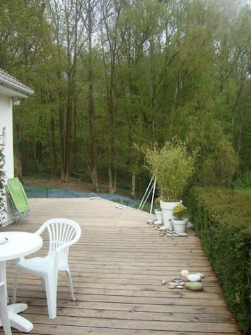 Grande maison au calme pour famille proche Rouen - Roncherolles-sur-le-Vivier - Huis