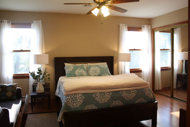 Private/Clean Bedroom and Bath - Princeton - Casa