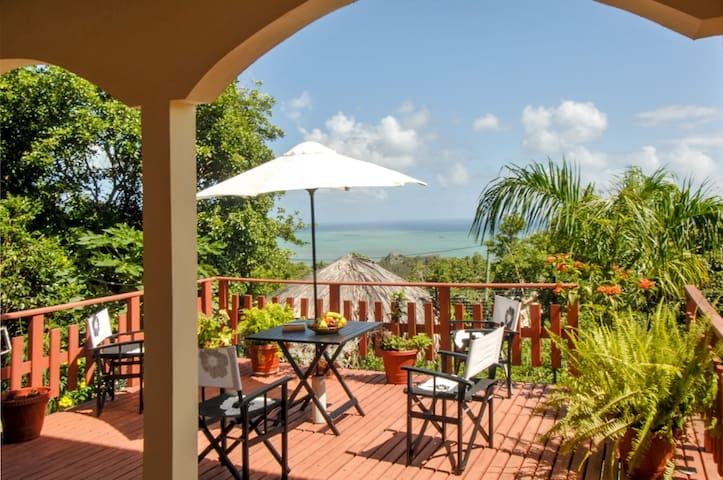 Villa with garden and stunning view - Rodrigues - Villa
