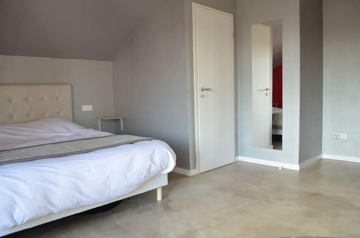 Grande chambre avec balcon - Rhinau - Hus