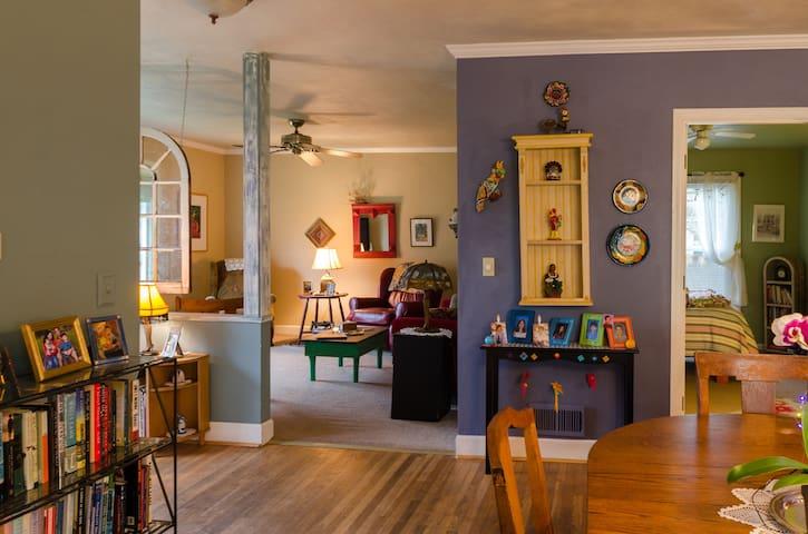 Warm Cozy Eclectic Home - Portland - Casa