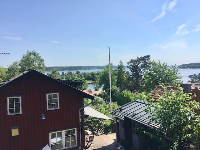 Seaside view 15 min from Stockholm City - Lidingö - Huis