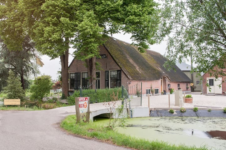 Farmhouse Vancation 4-6 pers. - Oudewater - Lejlighed