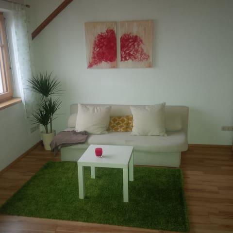 Dachgeschoß mit Terasse und Garten - Steyregg - Condomínio
