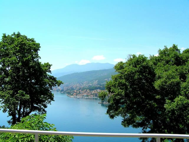 Cute apartment with panoramic view - Opatija