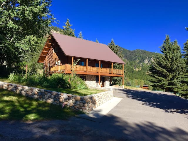 Beautiful Aspen Cabin-Great Views, Great Location! - Star Valley Ranch - Hus