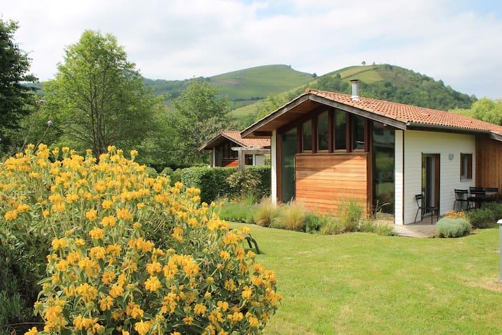 Eco-gîte ****, en plein coeur du Pays Basque. - Saint-Jean-Pied-de-Port - Doğa içinde pansiyon