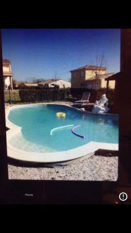 Villa piscine 25 km de Toulouse - Villemur-sur-Tarn - Huis