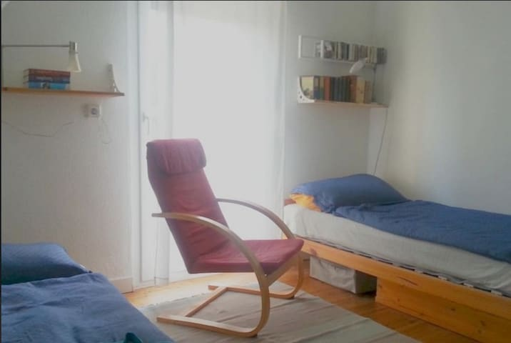 Room for two ,  shared bath - kitchen - Karlsruhe - Hus