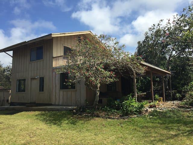 Comfortable and Serene Quaint Farm House - Hawi