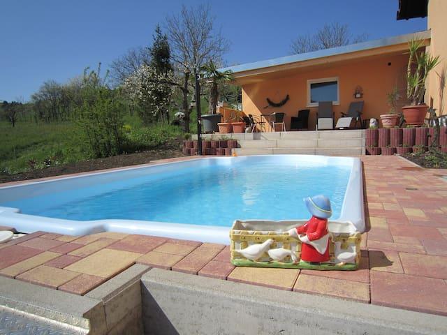 Schwimmen&Wohnen in den Weinbergen - Östringen