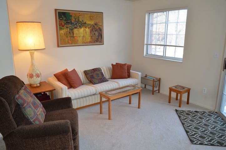 Quiet & cozy 1 bedroom apartment - Littleton - Departamento
