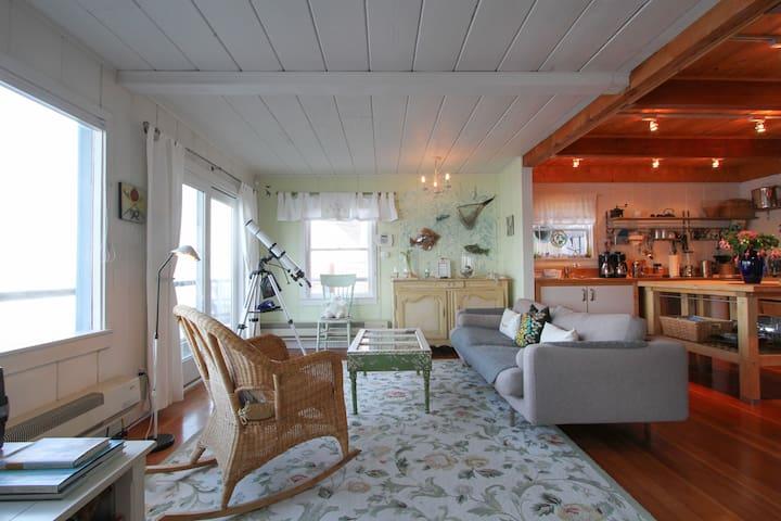 A Memorable Tomales Bay Retreat - Marshall - Rumah