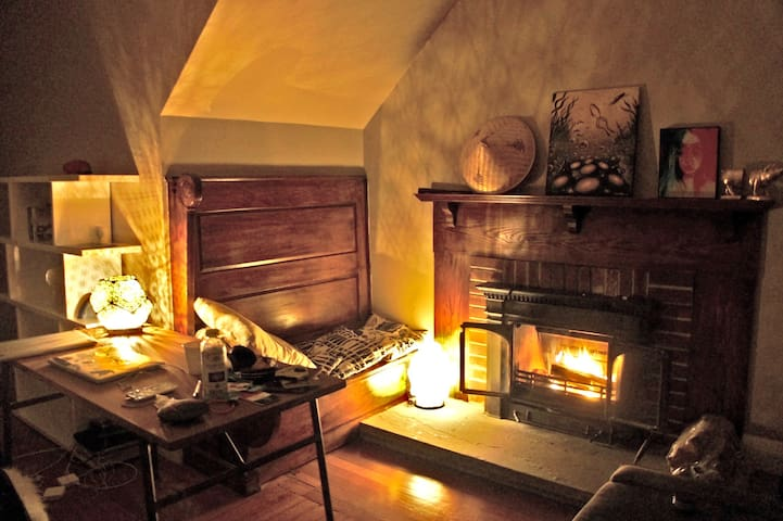 Cozy Retreat with Fireplace in downtown Arlington - Arlington - Wohnung