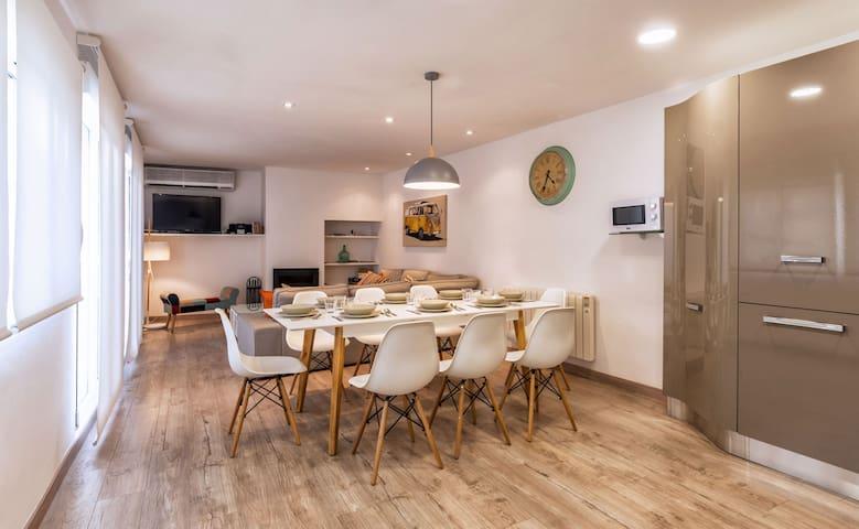 Bonito piso con terraza y barbacoa - Balaguer - Lägenhet